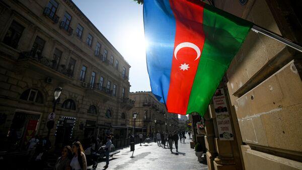 La bandera de Azerbayán  - Sputnik Mundo