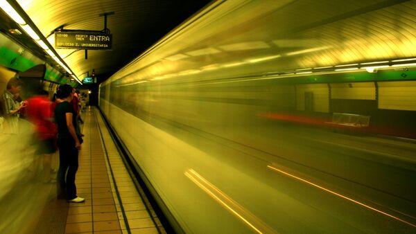 Una imagen del metro de Barcelona - Sputnik Mundo