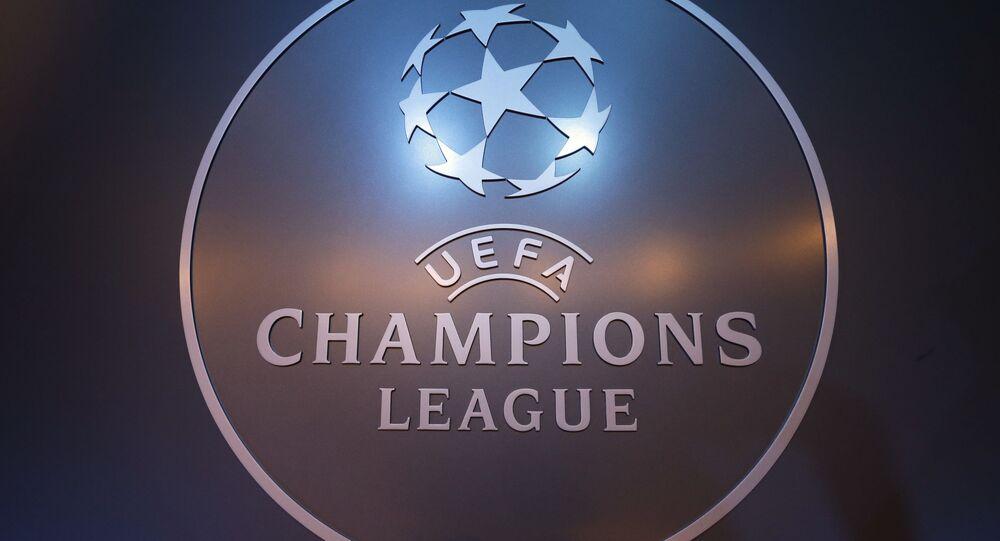 Logo oficial de la Liga de Campeones de la UEFA
