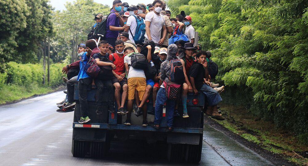 Caravana migratoria