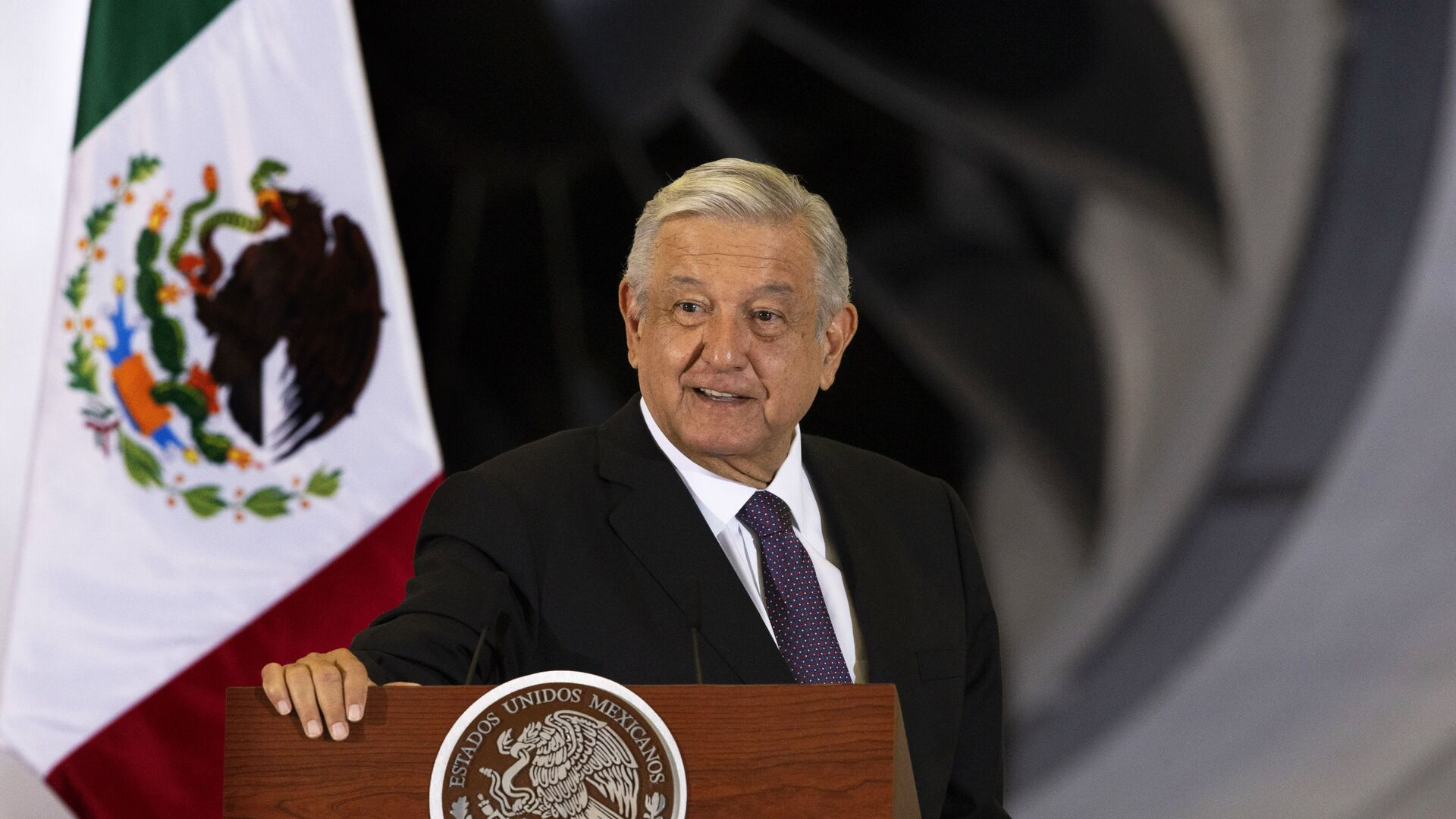 El presidente de México, Andrés Manuel López Obrador - Sputnik Mundo, 1920, 16.04.2021