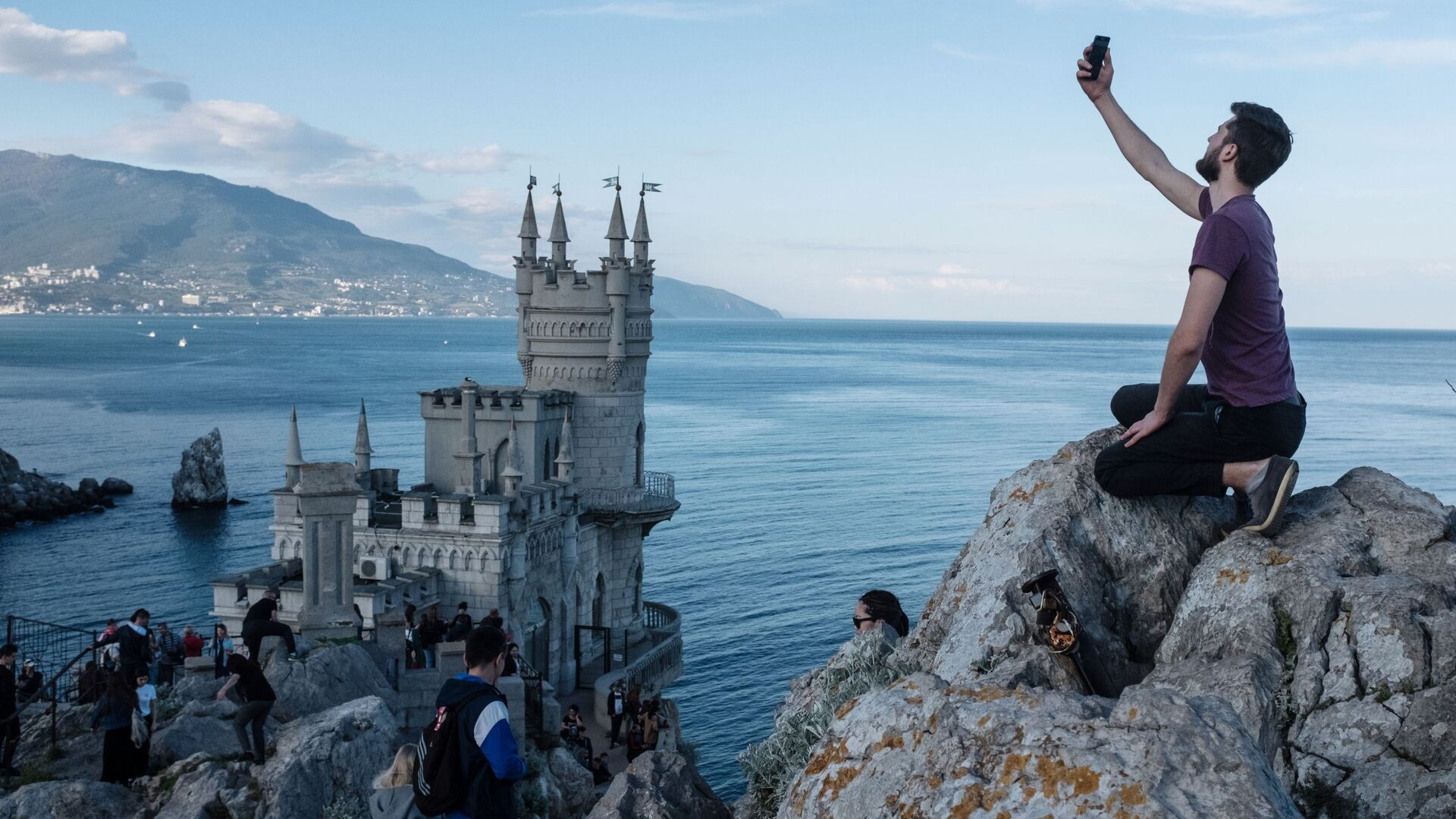 Turistas en Crimea - Sputnik Mundo, 1920, 12.05.2021
