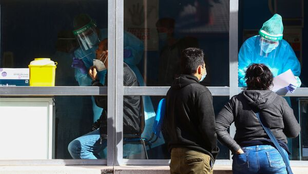 Coronavirus en Madrid, España - Sputnik Mundo