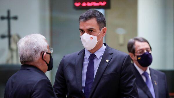 El presidente del Gobierno español, Pedro Sánchez - Sputnik Mundo