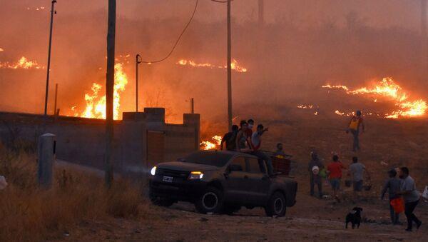 Incendios en Argentina - Sputnik Mundo