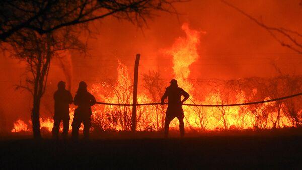 Incendios forestales en la provincia de Córdoba, Argentina - Sputnik Mundo