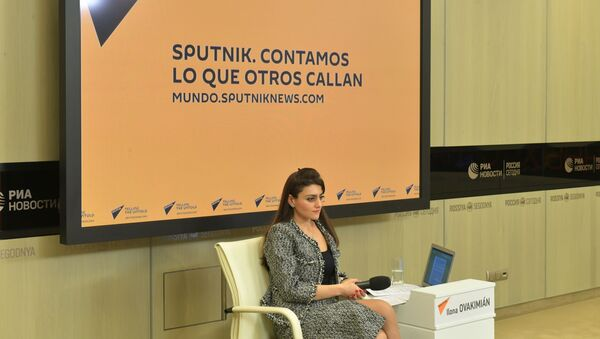 Ilona Ovakimián, jefa de la web y radio Sputnik Mundo - Sputnik Mundo