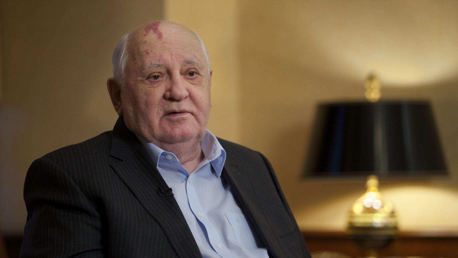 Mijaíl Gorbachov, expresidente de la URSS - Sputnik Mundo, 1920, 25.05.2021
