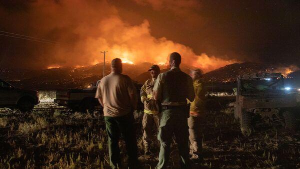 Incendios en Oregón - Sputnik Mundo