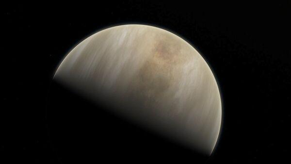Ilustración del planeta Venus - Sputnik Mundo