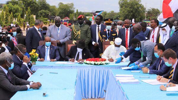 Ratificación del acuerdo entre el Gobierno de Sudán y los rebeldes - Sputnik Mundo