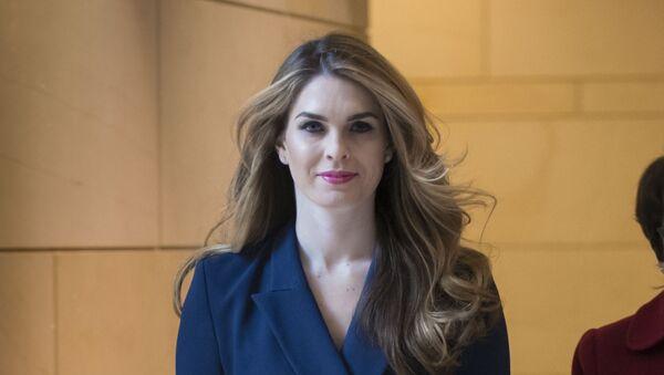 Hope Hicks, ayudante de Donald Trump - Sputnik Mundo