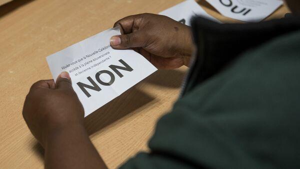 Referéndum sobre la independencia de Nueva Caledonia - Sputnik Mundo