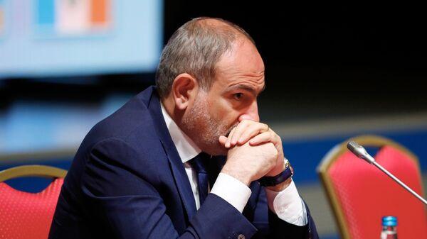 Nikol Pashinián, primer ministro de Armenia - Sputnik Mundo