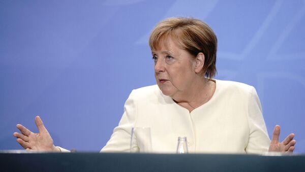 La canciller alemana, Angela Merkel - Sputnik Mundo