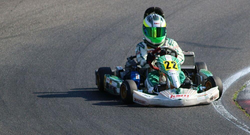 'Karting', foto de archivo