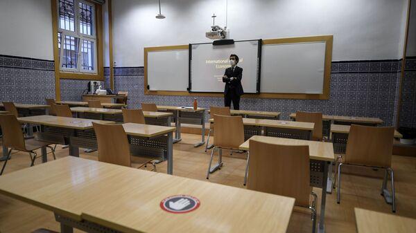 Foto referencial de un aula vacía - Sputnik Mundo