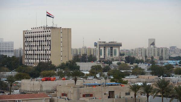 La zona verde de Bagdad (imagen referencial) - Sputnik Mundo