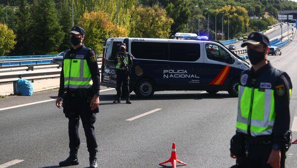 Cierre perimetral de Madrid - Sputnik Mundo