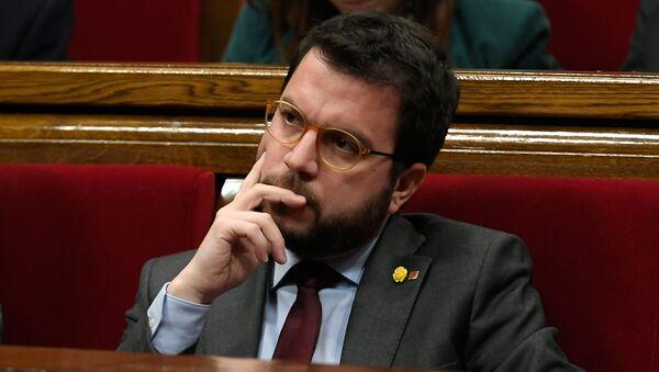 Pere Aragonès, el presidente interino de Cataluña - Sputnik Mundo