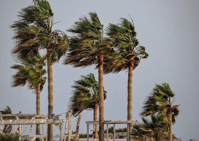 Una tormenta tropical (imagen referencial)