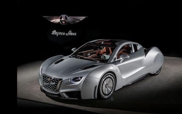 Coche eléctrico Carmen de la marca Hispano Suiza - Sputnik Mundo