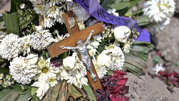 Un funeral en México en tiempos de la pandemia - Sputnik Mundo