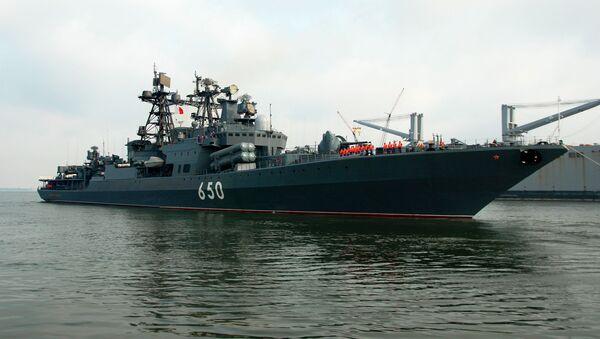Buque antisubmarino del proyecto 1155.1 Almirante Chabanenko - Sputnik Mundo