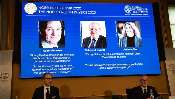 Ganadores del Premio Nobel de Física 2020 - Sputnik Mundo
