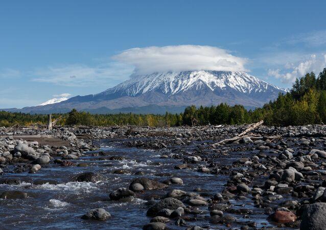 La naturaleza de Kamchatka (imagen referencial)