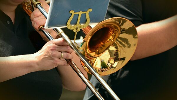 Una trompeta (imagen referencial) - Sputnik Mundo