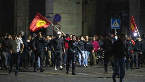 Protestas en Biskek - Sputnik Mundo