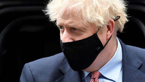 Boris Johnson, el primer ministro del Reino Unido - Sputnik Mundo