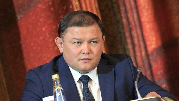 El presidente del Parlamento de Kirguistán, Dastán Dzamabékov - Sputnik Mundo