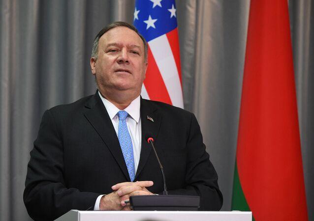 Mike Pompeo, el secretario de Estado (canciller) de Estados Unidos