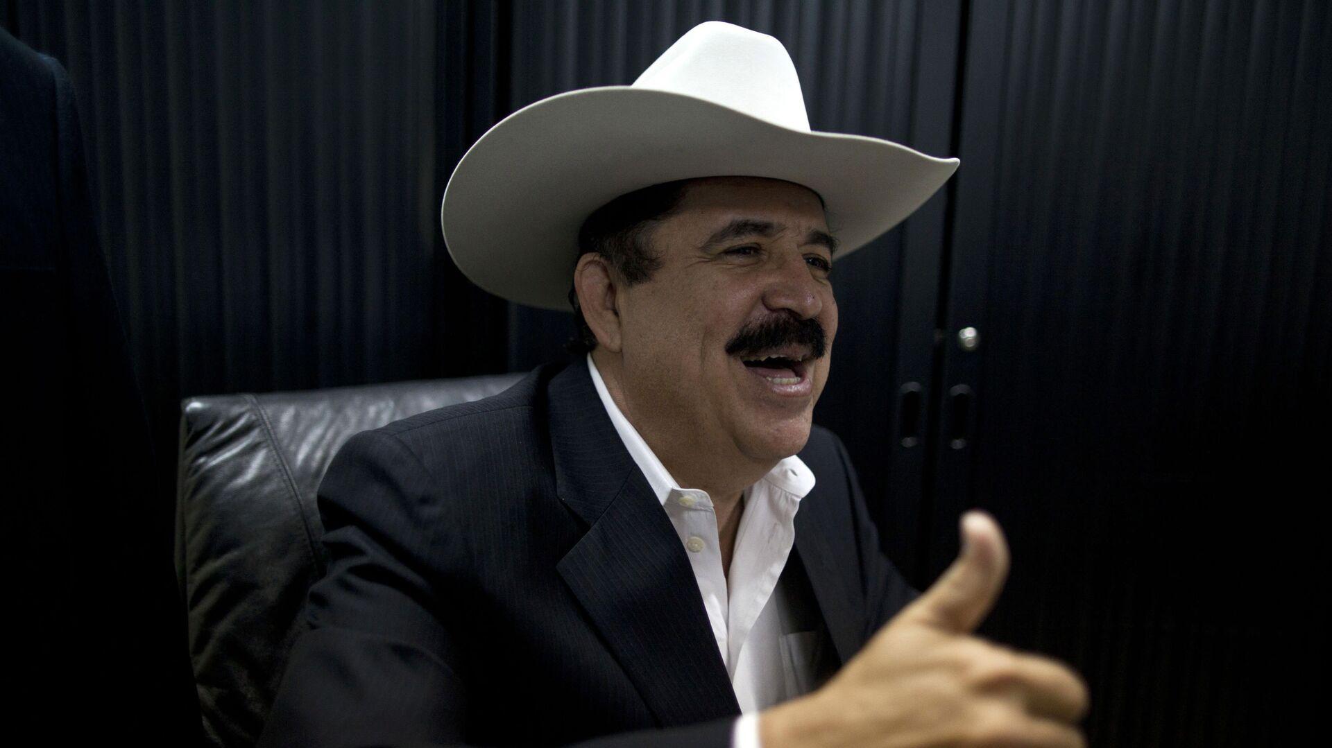 Manuel Zelaya, expresidente de Honduras - Sputnik Mundo, 1920, 11.03.2021