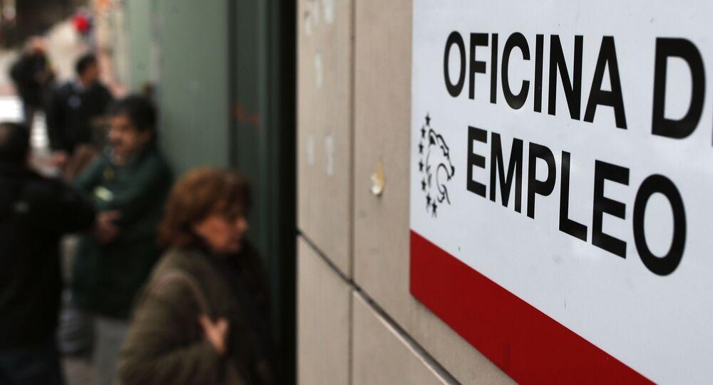 Imagen referencial de una oficina de empleo en Madrid