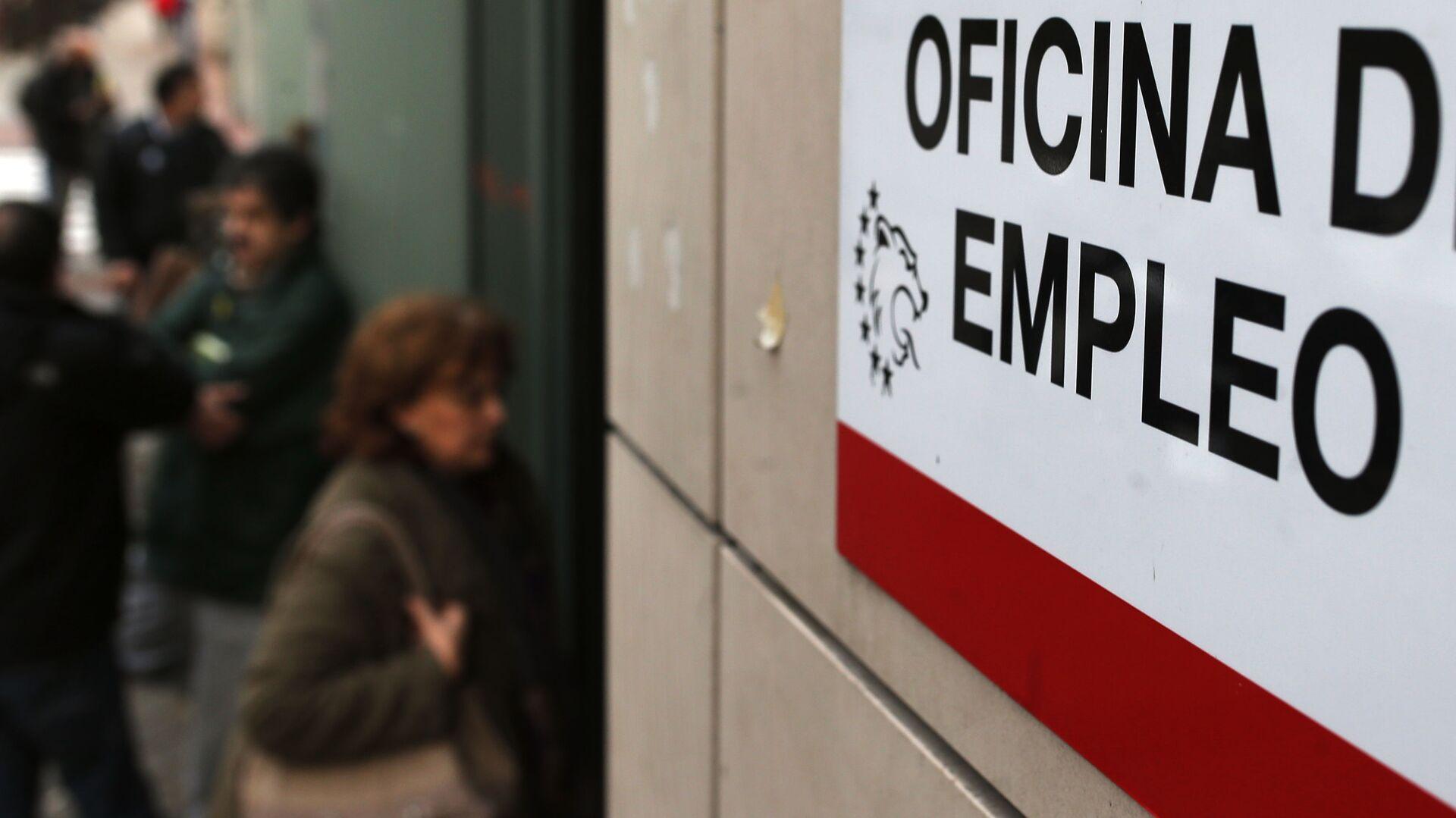 Imagen referencial de una oficina de empleo en Madrid - Sputnik Mundo, 1920, 03.08.2021