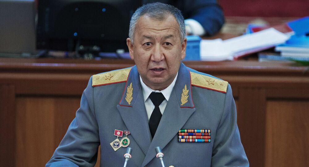 El primer ministro de Kirguistán, Kubatbek Boronov