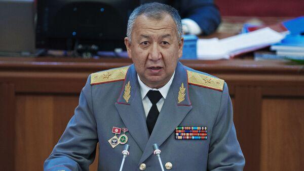 El primer ministro de Kirguistán, Kubatbek Boronov - Sputnik Mundo