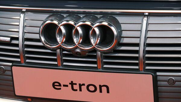 Logo de Audi - Sputnik Mundo
