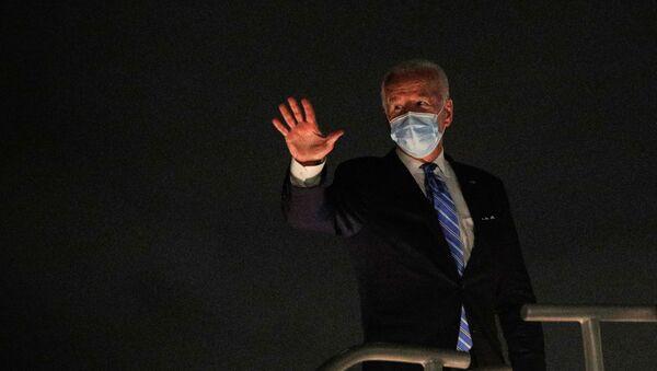 Joe Biden, candidato presidencial demócrata estadounidense - Sputnik Mundo