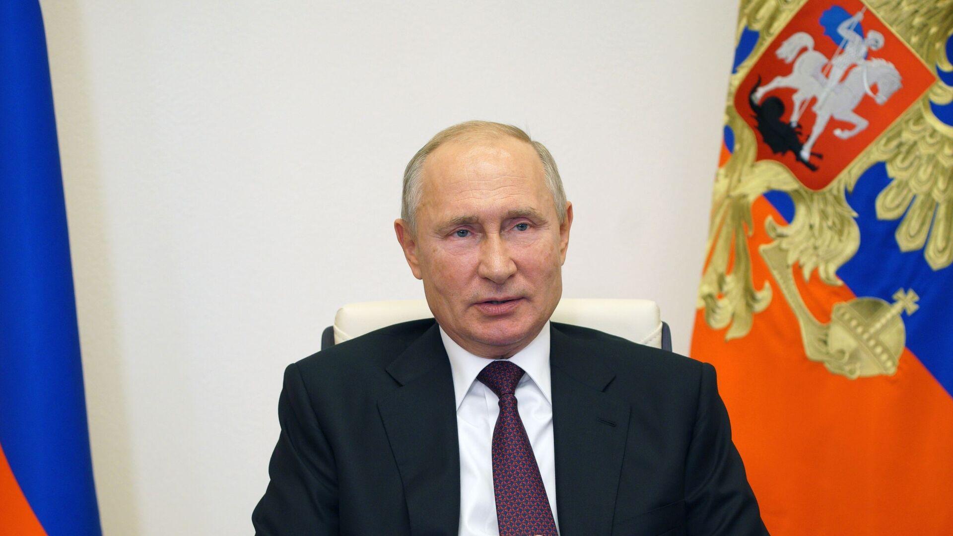 Vladímir Putin, el presidente de Rusia - Sputnik Mundo, 1920, 24.03.2021