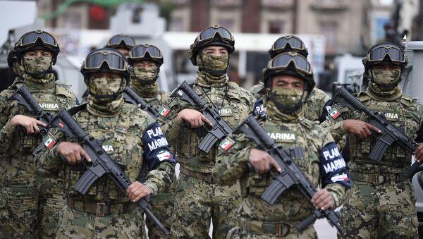 Militares mexicanos (imagen referencial) - Sputnik Mundo