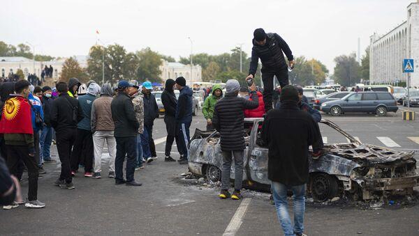 Protestas en Kirguistán  - Sputnik Mundo