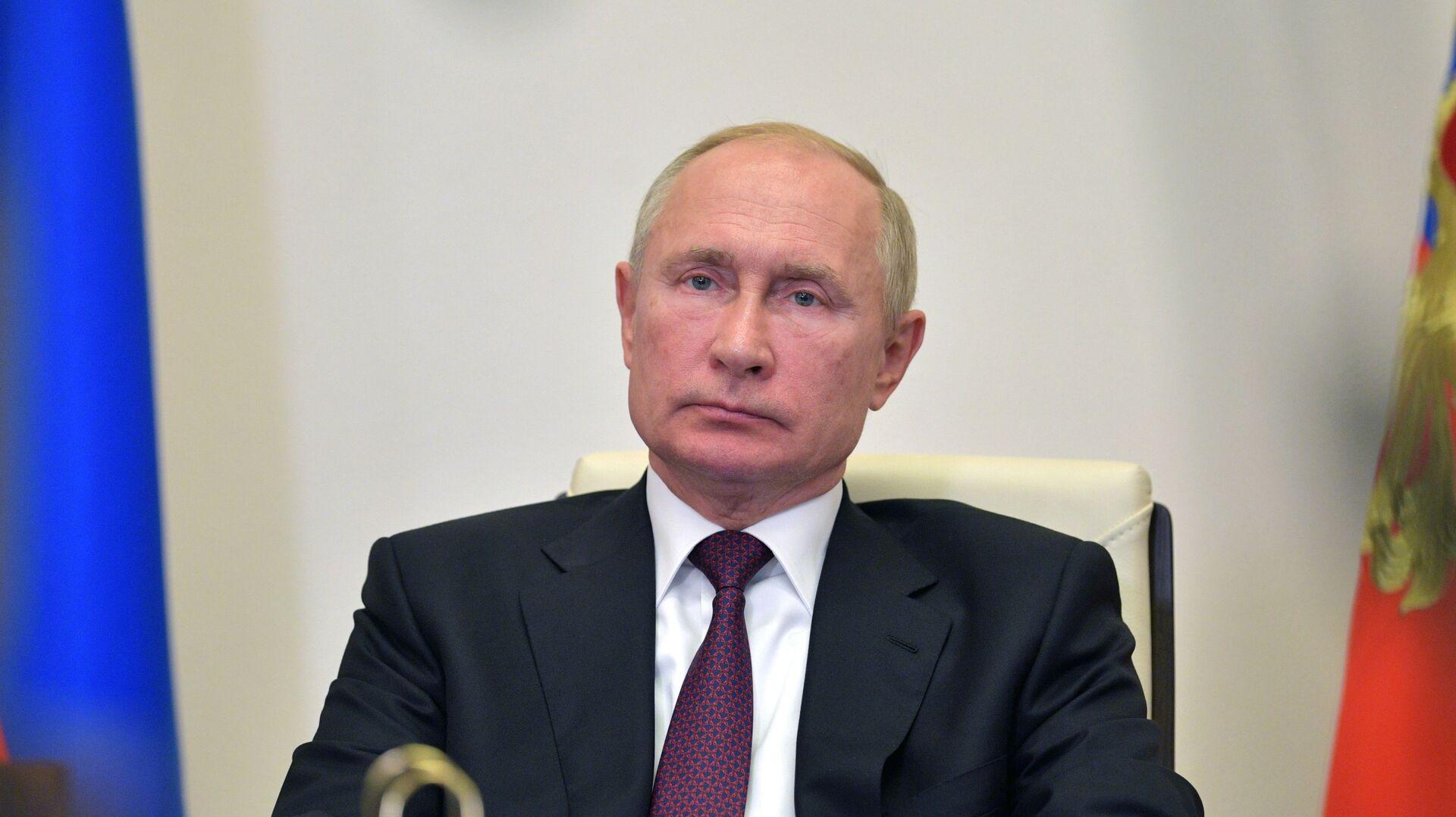 Vladímir Putin, presidente de Rusia - Sputnik Mundo, 1920, 20.04.2021