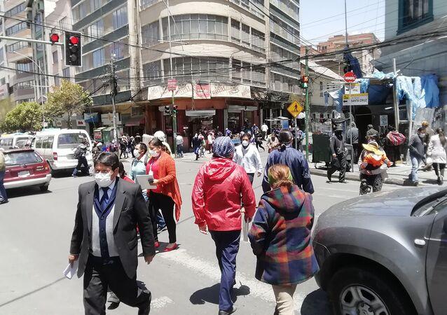 Las calles de La Paz