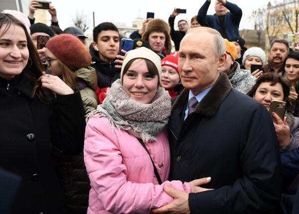 El presidente ruso Vladímir Putin cumple 68 años   - Sputnik Mundo