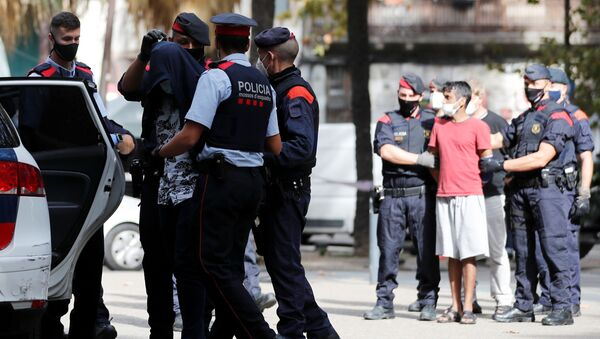 Operación antidroga en Barcelona - Sputnik Mundo
