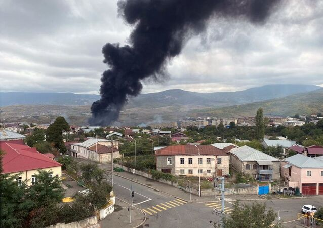 Consecuencias del ataque a la capital de Nagorno Karabaj, Stepanakert